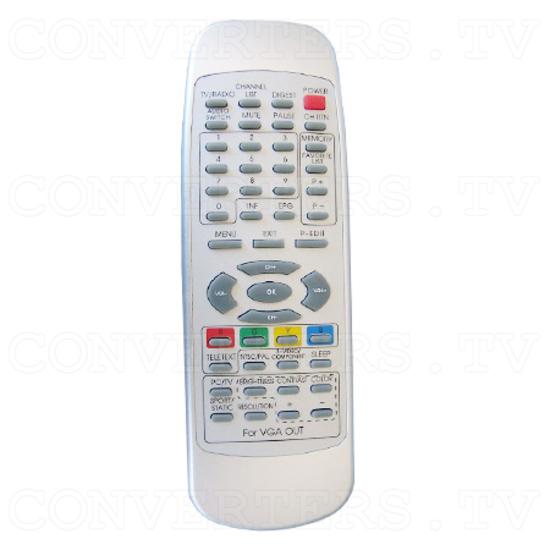 Digital Video & Audio Set Top Box with Recording - Remote Control