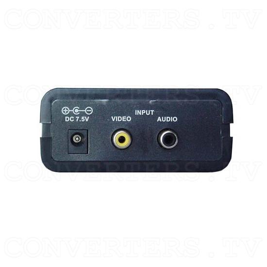 Analog NTSC to PAL with RF output(CN-100P/RF) - Back View