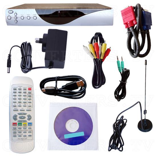 Digital Video & Audio Set Top Box with Recording - Full Kit