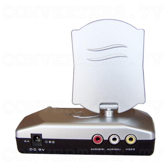 2.4Ghz Wireless Colour Camera Transceiver - Receiver Back View