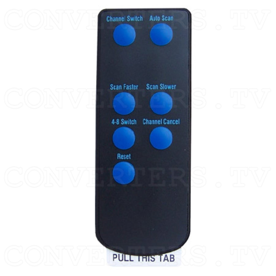 2.4Ghz Wireless Colour Camera Transceiver - Remote Control