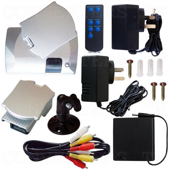 2.4Ghz Wireless Colour Camera Transceiver - Full Kit