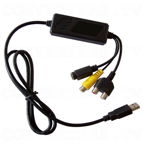 USB 2.0 Audio/Video Grabber - Full View