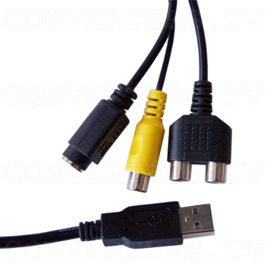 USB 2.0 Audio/Video Grabber - Close Up - AV/S-Video/Audio/USB