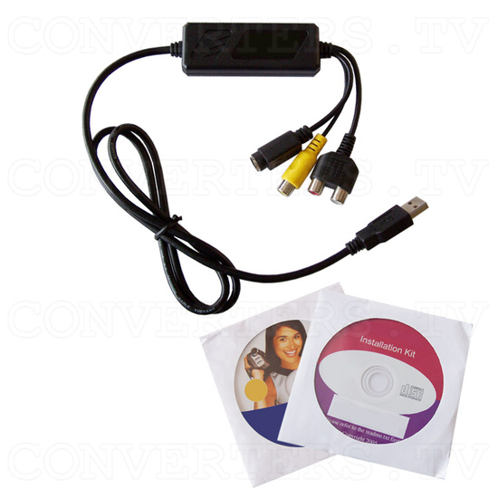 USB 2.0 Audio/Video Grabber - Full Kit