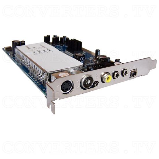 PAL AV + DV and TV Tuner Edit Kit - Video Card Full View
