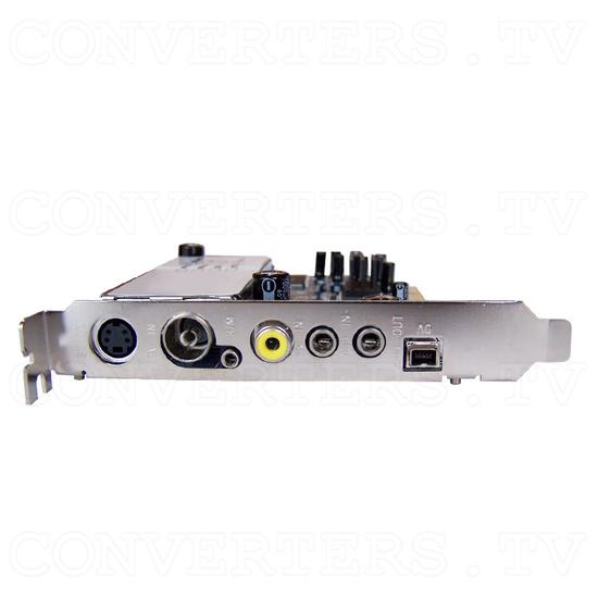 PAL AV + DV and TV Tuner Edit Kit - Video Card Front View