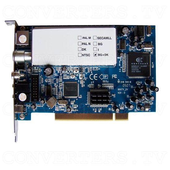 PAL AV + DV and TV Tuner Edit Kit - Video Card Top View