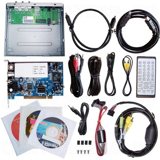 PAL AV + DV and TV Tuner Edit Kit - Full Kit