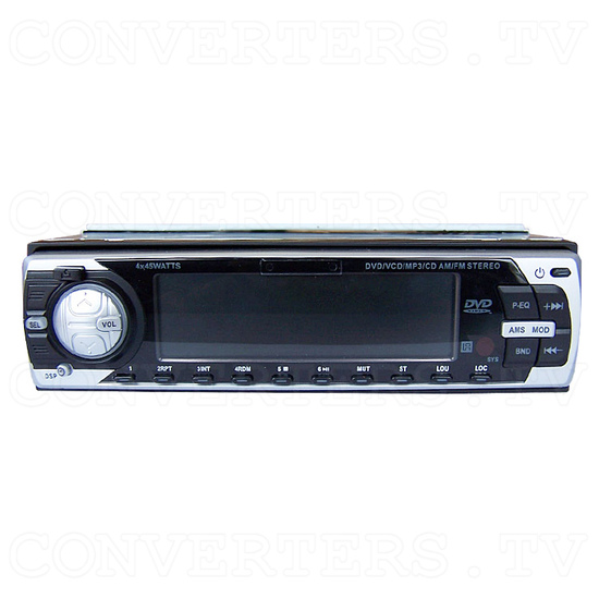 CAR DVD Player - Front View