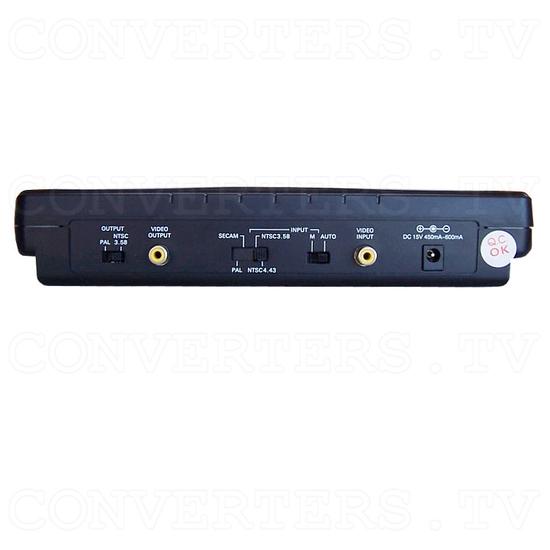 PAL to NTSC (NTSC to PAL) Video Converter / Convertor (CDM-600) - Back View