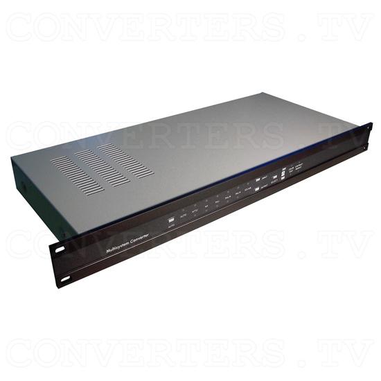 PAL to NTSC (NTSC to PAL) Converter with 19inch Rack(CDM-640AR) - Full View