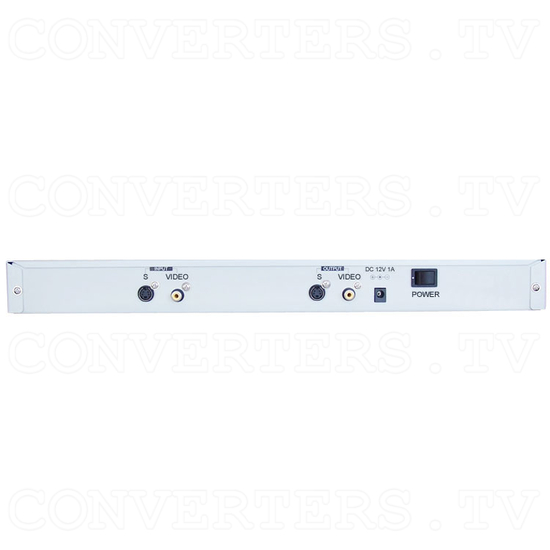 PAL to NTSC (NTSC to PAL) Converter with 19inch Rack(CDM-640AR) - Back View