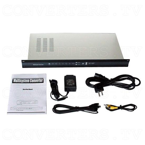 PAL to NTSC (NTSC to PAL) Converter with 19inch Rack(CDM-640AR) - Full Kit