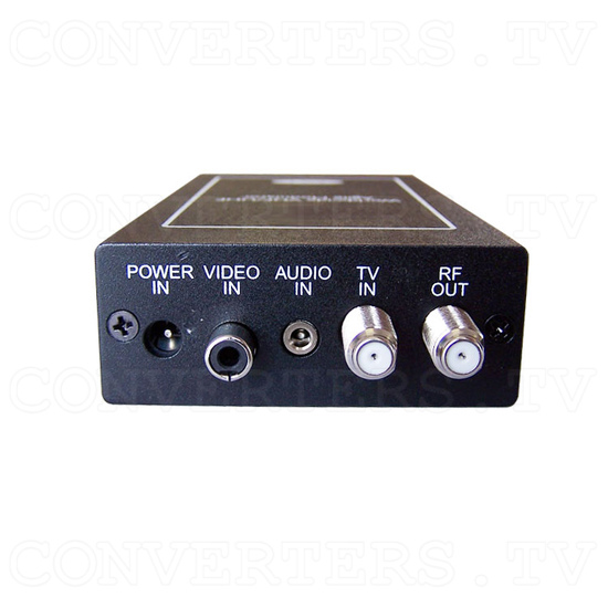 VHF/UHF Agile Modulator - Front View