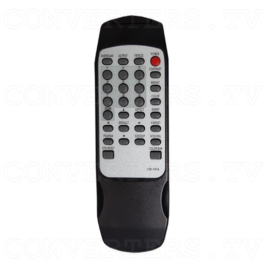 PC/HDTV to Video Scan Converter - Remote