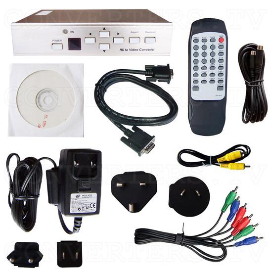 PC/HDTV to Video Scan Converter - Full Kit