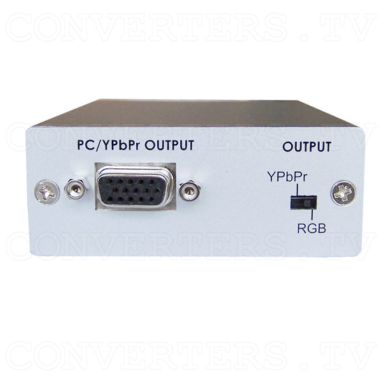 DVI to PC/HD Format Converter - Front View