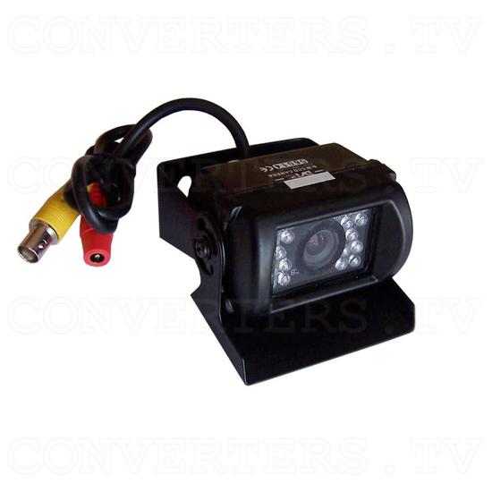 Reverse Car Camera. IR LED, Waterproof, B/W Camera - Full View