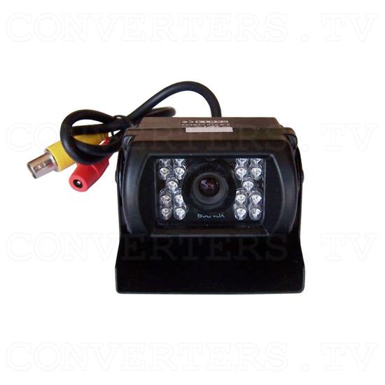 Reverse Car Camera. IR LED, Waterproof, B/W Camera - Front View