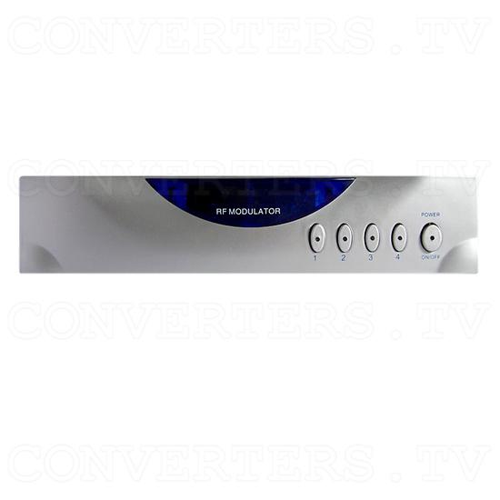 4 Input 2 Output AV Selector (AV-5310) - Front View