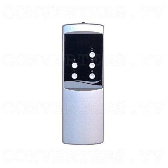 4 Input 2 Output AV Selector (AV-5310) - Remote