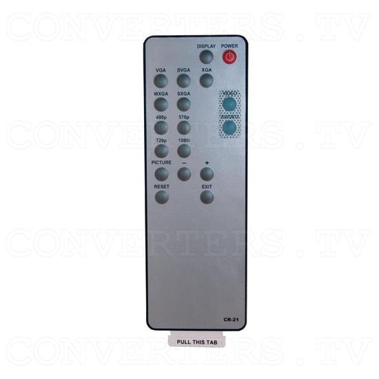 Video to PC/HD Scaler Box (CM-390) - Remote