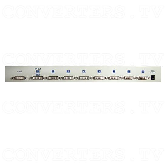 DVI Distributor 8 way - Back View