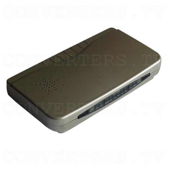 PAL to NTSC (NTSC to PAL) Digital Multisystem Converter / Convertor (CDM-660) - Full View