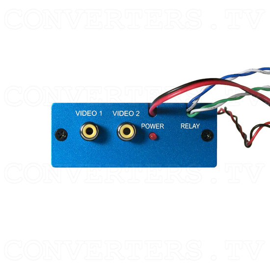 Dual Video to RGB Converter - Back View