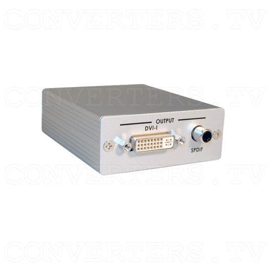 HDMI to DVI-D Converter with SPDIF Digital Audio - Full View