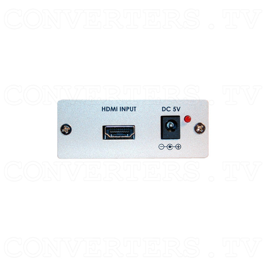 HDMI to DVI-D Converter with SPDIF Digital Audio - Back View