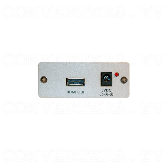 DVI with Digital Audio to HDMI Converter - Back View