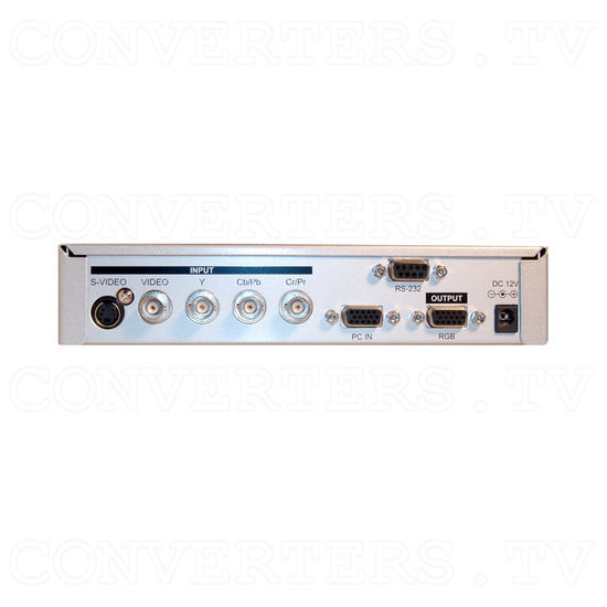 Video, PC, HDTV to UXGA Converter - Back View