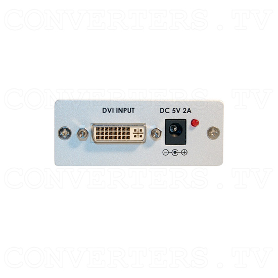 DVI Amplifier Equalizer - Back View