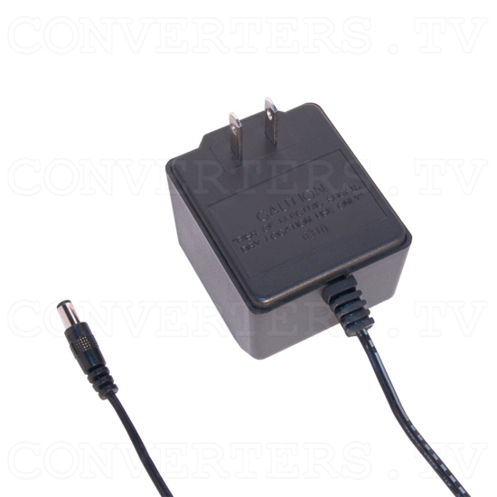 120VAC to 15V DC 600mA Power Supply - Center Negative - Full View
