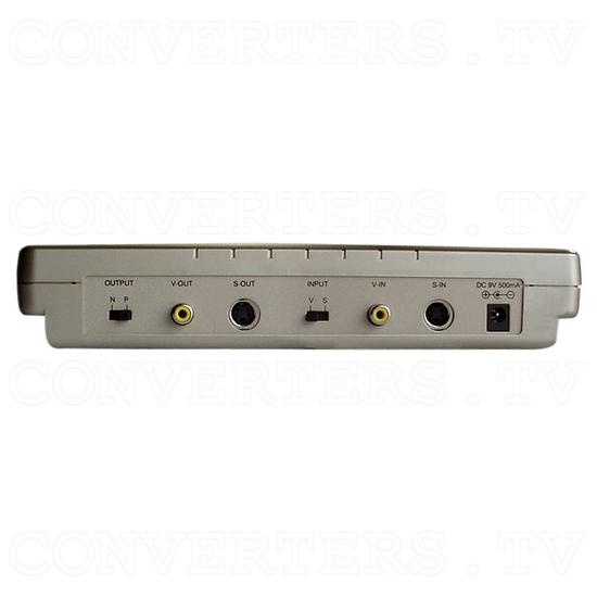PAL to NTSC (NTSC to PAL) Digital Multisystem Converter / Convertor (CDM-660) - Back View
