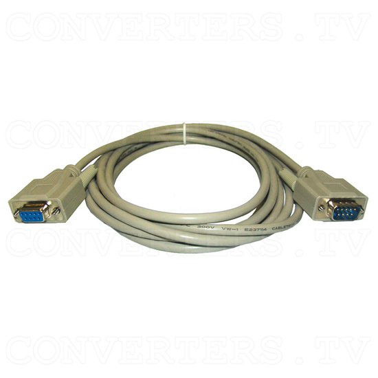 VGA to NTSC / PAL Video Converter / Convertor (CPT-360) - RS232 Interconnect Cable