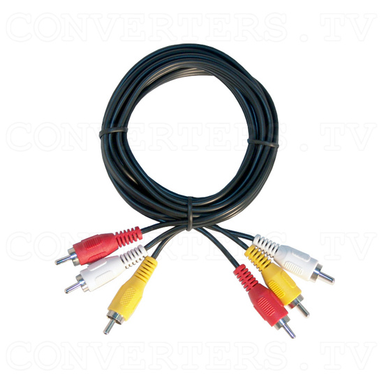 PAL to VGA DVI Converter - VTB100 - Video and Stereo AV Cable