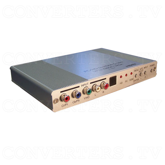 HDMI Digital scaler with ultra high bandwidth - Full View