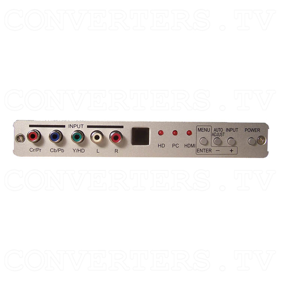 HDMI Digital scaler with ultra high bandwidth - Front View