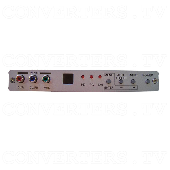 DVI Digital scaler with ultra high bandwidth - Front View