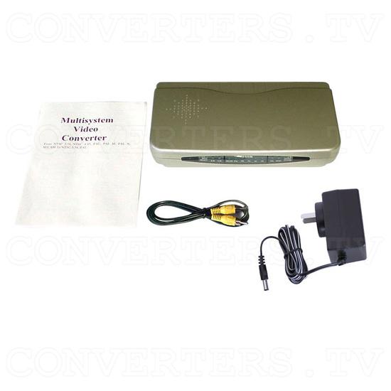 PAL to NTSC (NTSC to PAL) Digital Multisystem Converter / Convertor (CDM-660) - Full Kit