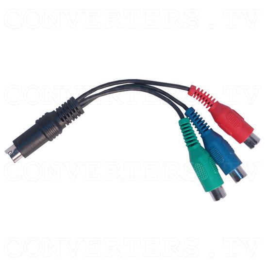 SCART Video to XGA / HDTV Converter - Component AV to RGB Adapter