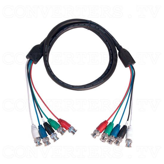 Professional Video Scaler CSC - 1600HDAR - 5 BNC to 5 BNC