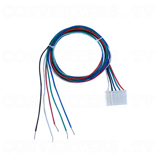 RGB, CGA to VGA Converter (640 x 480) - 5 Pin RGB Cable