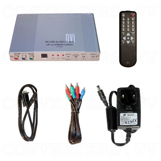 DVI Digital scaler with ultra high bandwidth - Full Kit