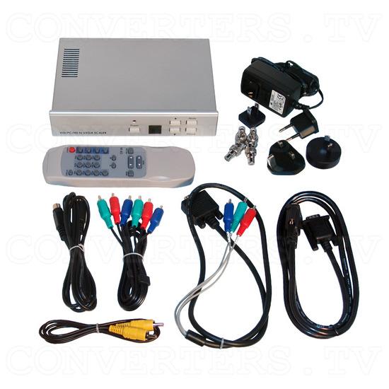 Video, PC, HDTV to UXGA Converter - Full Kit