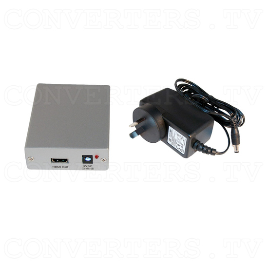 DVI with Digital Audio to HDMI Converter - Full Kit