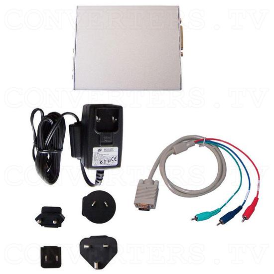DVI to PC/HD Format Converter - Full Kit